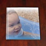 Baby Boy Blair's baby art book